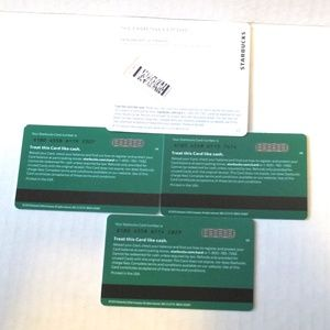 Starbucks Other - Starbucks 2020 4 Teacher Collection CARD NO VALUE